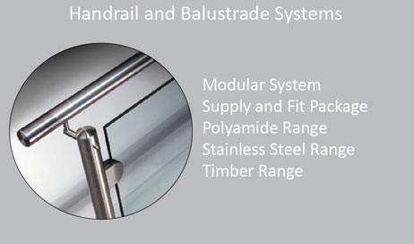 C Handrail and Balustrade Systems